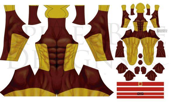 Wolverine Brown Costume