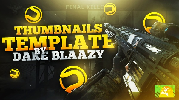 THUMBNAILS TEMPLATE by Dare BlaaZy