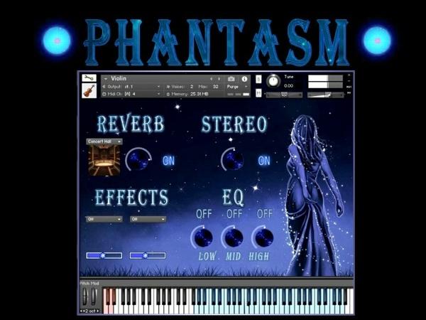 Phantasm for Kontakt NI 5 (VSTi, sample library)