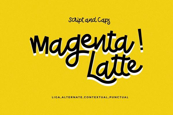 Magenta Latte