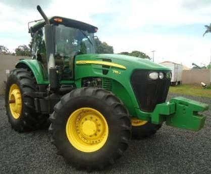 John Deere 7185J, 7195J, 7205J, 7210J, 7225J Worldwide Tractors Service Repair Manual TM802119