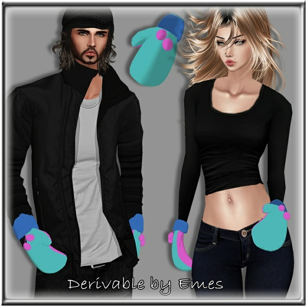 HD MITTENS MESH MALE