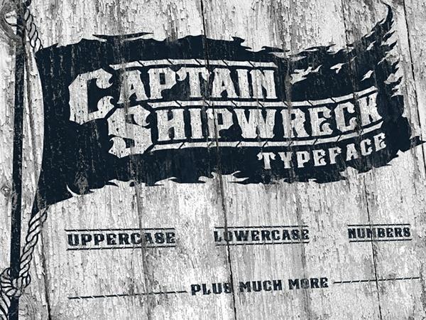Captain Shipwreck Font