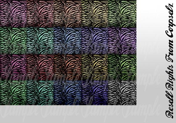 Zebra Bling Pillows Textures Catty Only!!!