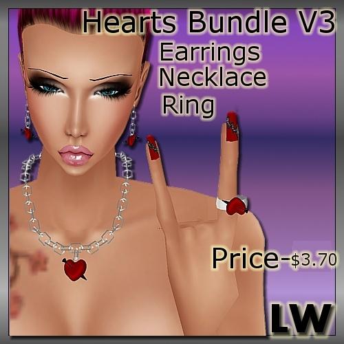 Heart Bundle V3 MESH