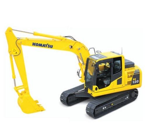 KOMATSU PC130-8 HYDRAULIC EXCAVATOR SERVICE REPAIR MANUAL + OPERATION & MAINTENANCE MANUAL
