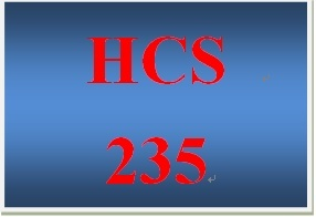 HCS 235 Week 2 Health Care Utilization Paper