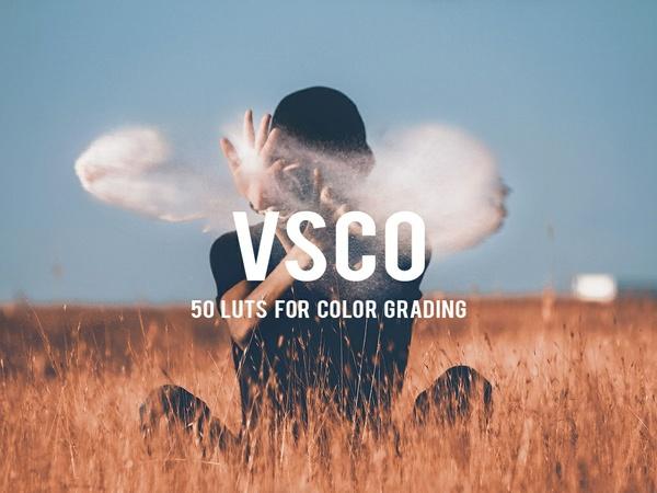 50 VSCO inspired LUTs