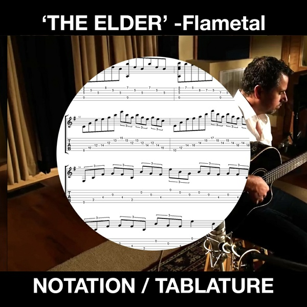 THE ELDER - Flametal - SOLO FLAMENCO GUITAR - Ben Woods
