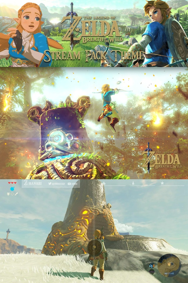 Stream pack : Zelda Breath of the Wild theme