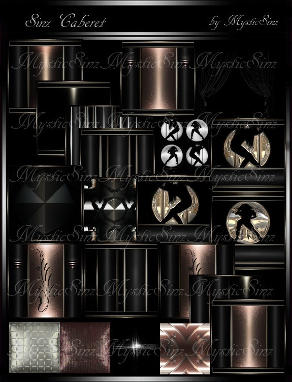 IMVU Textues SinZ Caberet Room Collection