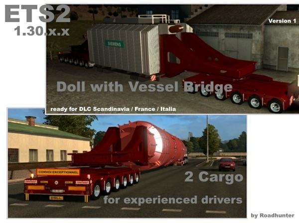 Doll 6 x 6 Axles with Vessel Bridge V1.0