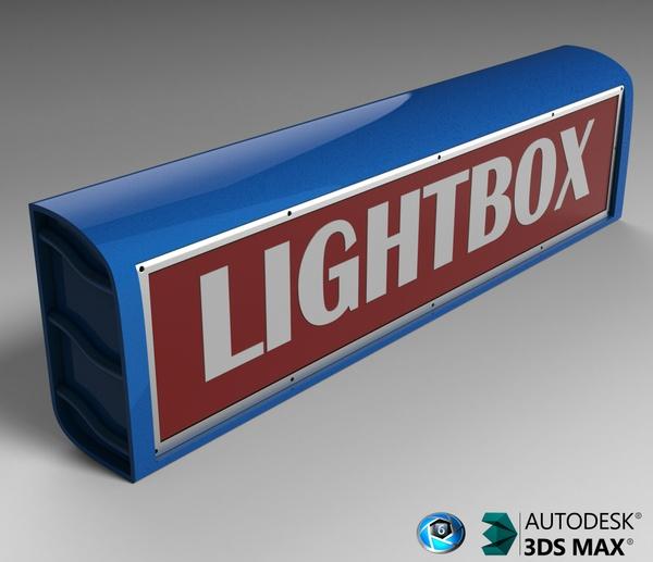 3D Lightbox Model