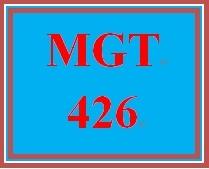 MGT 426 Week 5 Motivation Toward Goals