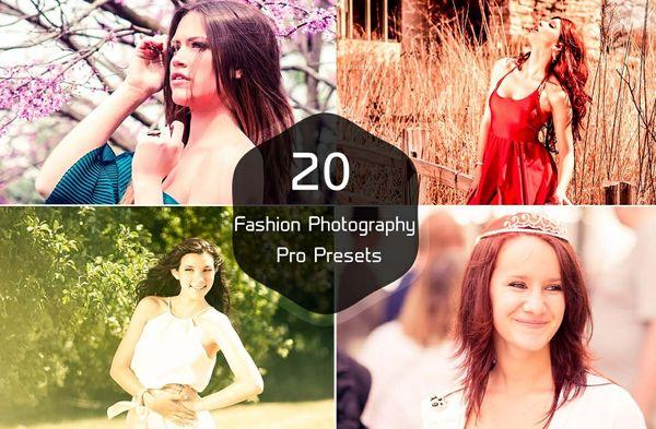 20 Fashion Photography Pro Presets
