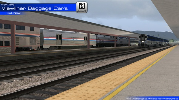 Viewliner Baggage Cars