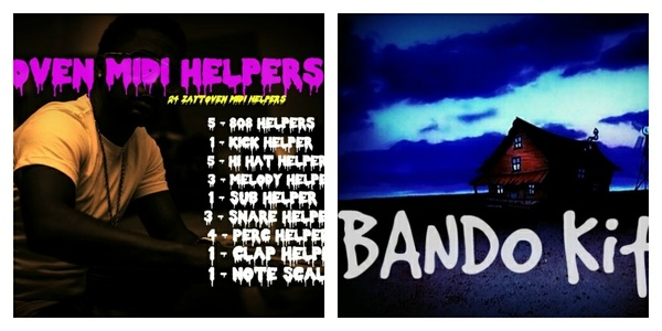 Secrets Of Zaytoven Begginers Bundle W/Bando Kit (Midi Kit & Bando Drumkit)