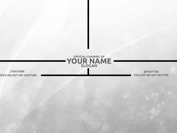 White Style PreMade Banner