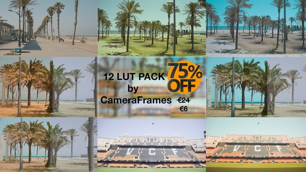 12 LUT PACK by CameraFrames