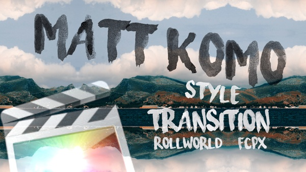 Rollworld Transition FCP X