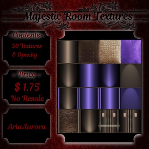Room Textures -- Majestic (NO RESALE)