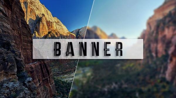 Banner YouTube/Twitter