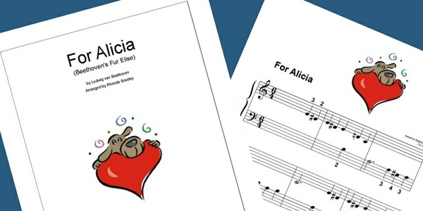 Fur Elise Sheet Music For Absolute Beginners
