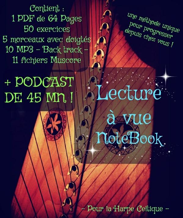 2-E-BOOK - LECTURE À VUE VOLUME 1 - AVEC  PODCAST - PACK
