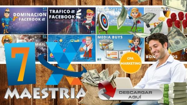 Mega Entrenamiento Maestria CPA 2017 | Facebook Ads | Retargeting | Embudos | Listas | Videos