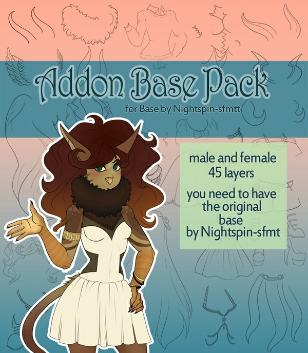 [P2U] Addon Base Pack 45 extras