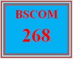 BSCOM 268 Week 5 Media Law Matrix