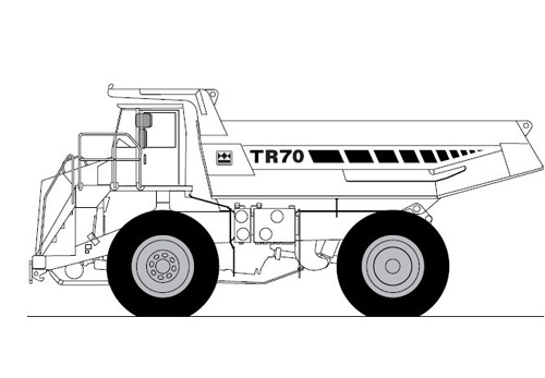Terex TR70 Off-Highway Truck Service Repair Manual