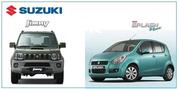 Suzuki Jimny & Splash Factory Service Manuals.