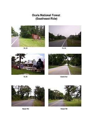 Ocala Forest Southeast Scenic Motorcycle Ride