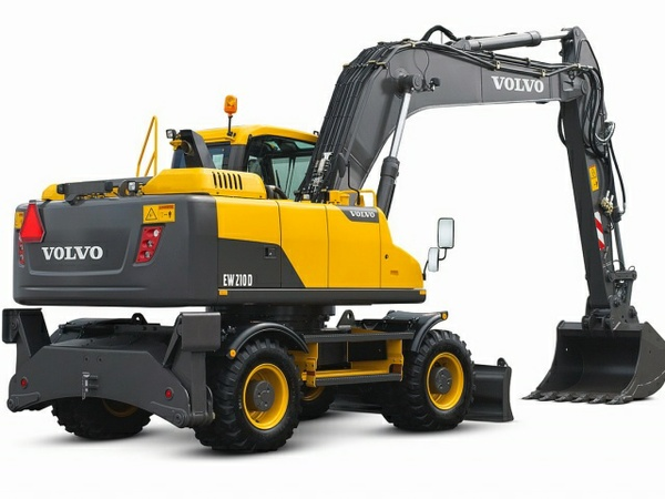 VOLVO EW210D WHEELED EXCAVATOR SERVICE REPAIR MANUAL - DOWNLOAD