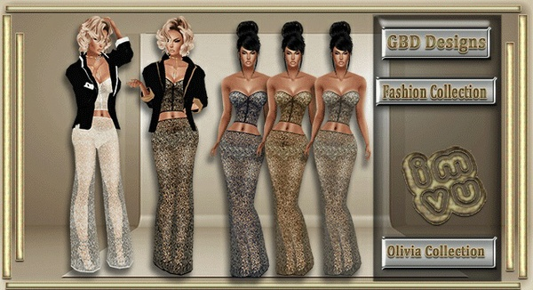 Olivia Collection CATALOG ONLY!!