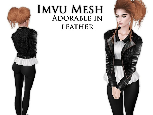 IMVU Mesh - Tops - Adorable in leather