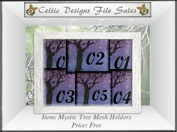 CD Mystic Tree Mesh Holders