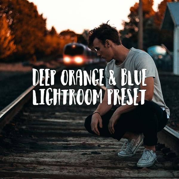 DEEP ORANGE & BLUE LIGHTROOM PRESET