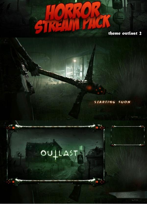 Horror Stream Pack : Outlast 2
