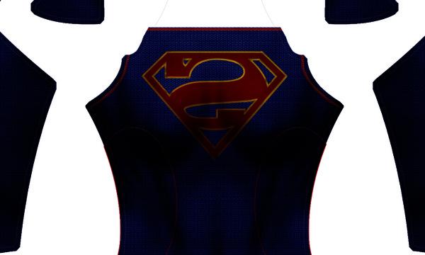 Bizarro Supergirl (CBS Version) Dye-Sub Digital Pattern