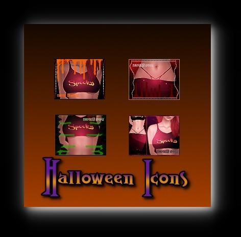 4 Halloween Icons!!!