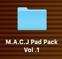 M.A.C.J Pad Pack Vol .1