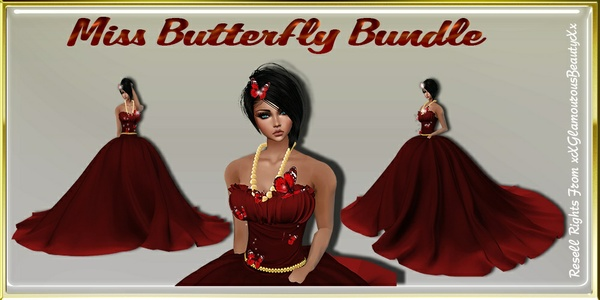 Miss Butterfly Bundle Catty Only!!!