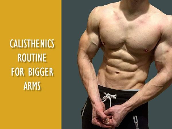 CALISTHENICS ARM TRAINING