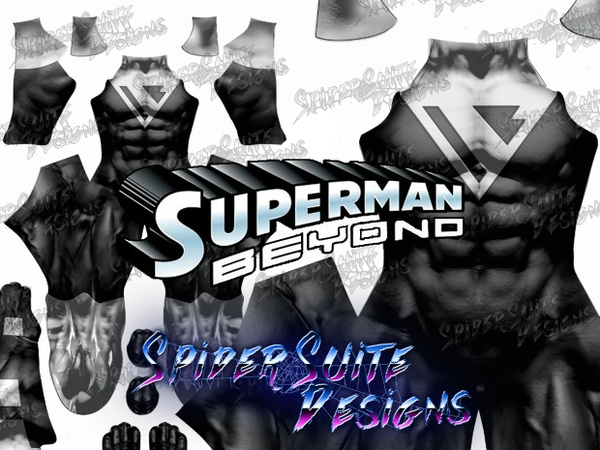 Superman Beyond 2017 Pattern
