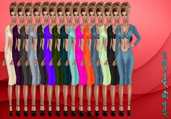 Kelia Plain Dresses Resell Rights!!!