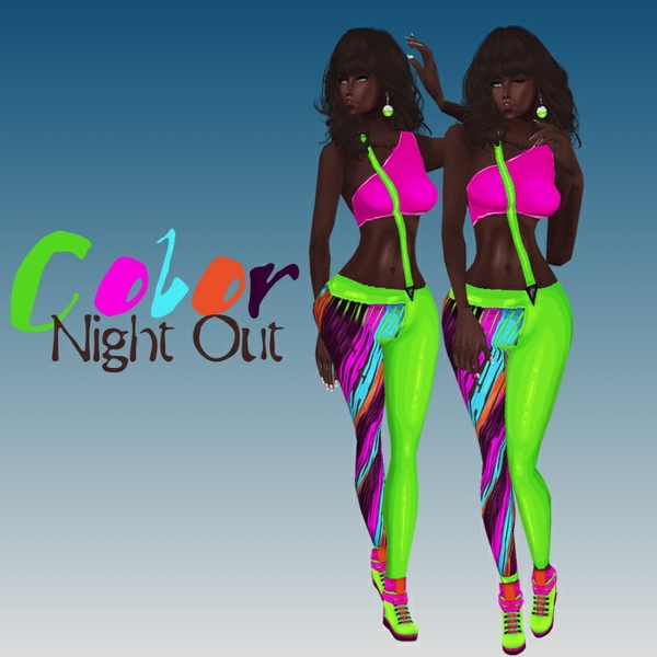 Color Night Out Catty Only!!!
