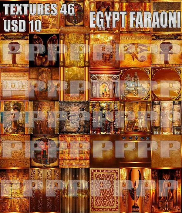EGYPT FARAONI  46 TEXTURES 10 USD