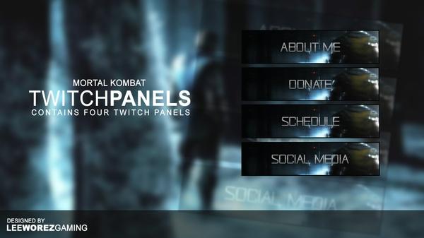 Twitch Panel Pack | Mortal Kombat X - Variant 1